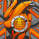 Mechanical Heart on Background - GraphicRiver Item for Sale