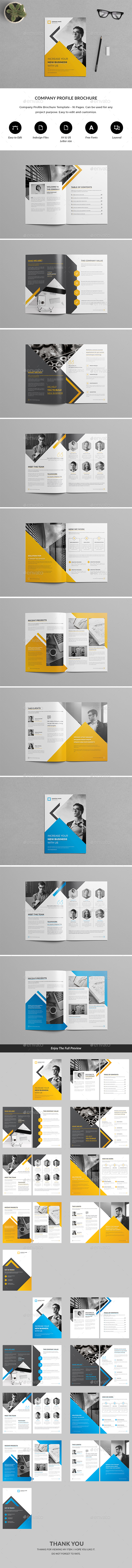 GraphicRiver Company Profile Brochure 20388298