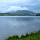 Lake With Cloudy Hill - VideoHive Item for Sale