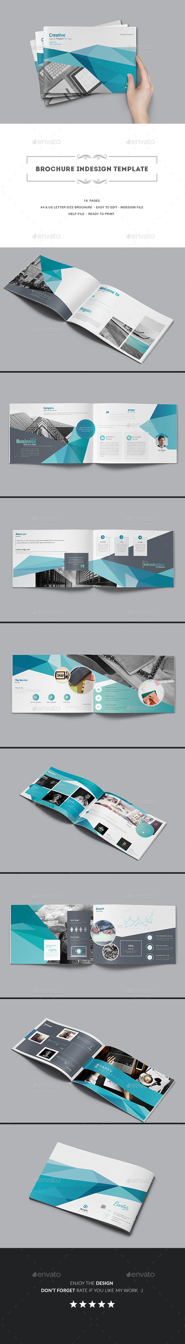 GraphicRiver Brochure Indesign Template 20388555