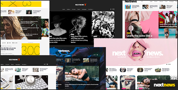 NextNews - WordPress Theme for Blog and Magazine