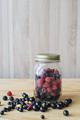 Wild forest berries