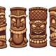 Tiki Totems - GraphicRiver Item for Sale