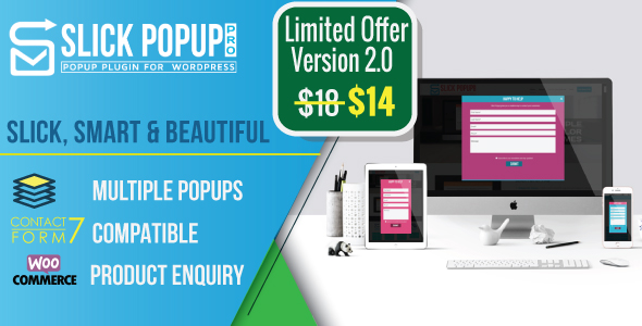 Slick Popup Pro - CodeCanyon Item for Sale