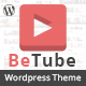 Betube Video WordPress Theme - ThemeForest Item for Sale