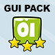 Cartoon GUI PACK #02 - GraphicRiver Item for Sale