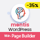 Mentis Psychologist Life Coach Psychotherapist WordPress Theme With Page Builder - ThemeForest Item for Sale