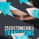 25 Customizable Transitions - VideoHive Item for Sale