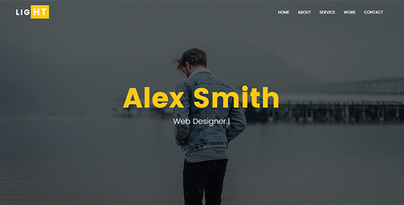 Light - Personal Portfolio Template