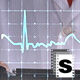 Doctor Looking at Cardiogram - VideoHive Item for Sale