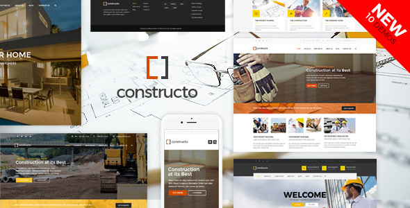 Constructo - Construction WordPress Theme - Business Corporate