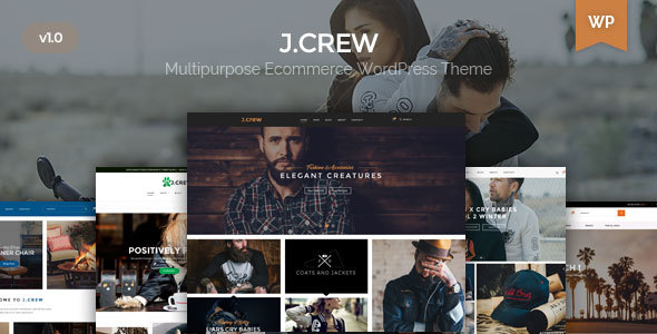 ThemeForest Jcrew Universal WooCommerce Theme 20389941
