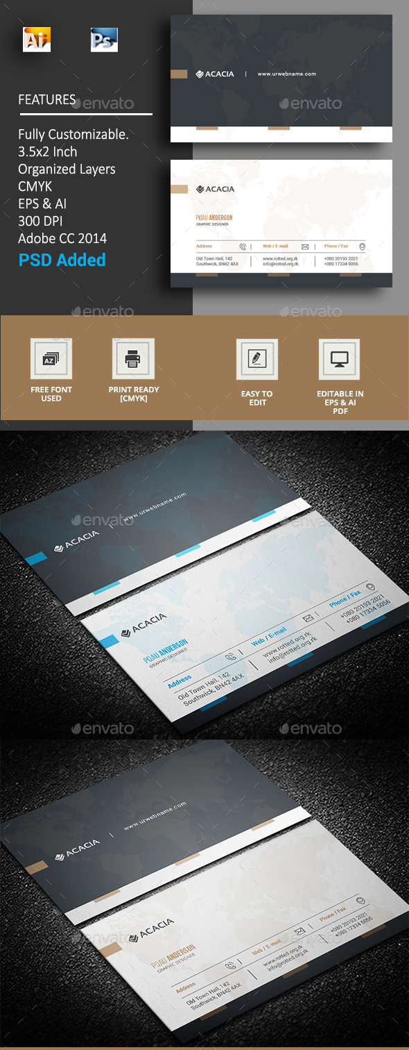GraphicRiver Expe Business Card 20373419