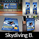 Skydiving Advertising Bundle - GraphicRiver Item for Sale