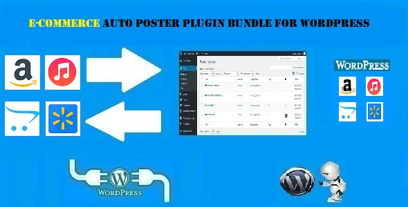 CodeCanyon E-Commerce Auto Poster WordPress Bundle by CodeRevolution 20390115
