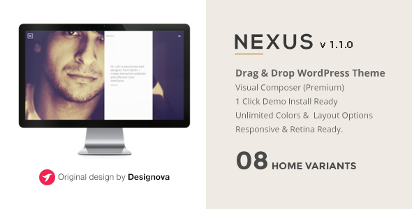 NEXUS - Multi Layout Portfolio WordPress Theme - Portfolio Creative
