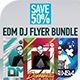 EDM Dj Flyer Bundle 3