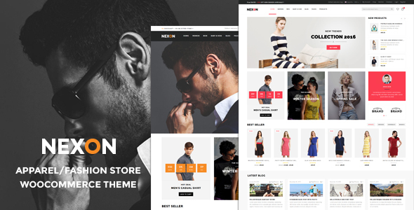 Nexon - Apparel Store WooCommerce WordPress Theme - WooCommerce eCommerce
