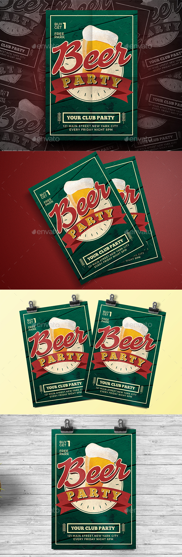Beer Party Flyer - Events Flyers