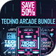 Techno Arcade Bundle - GraphicRiver Item for Sale