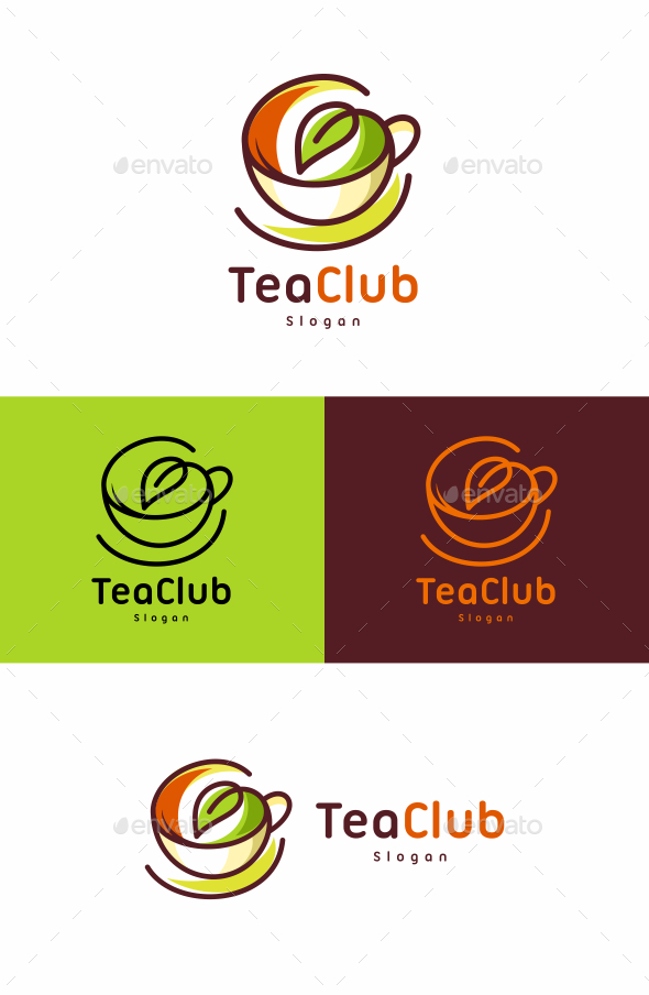 Tea - Food Logo Templates
