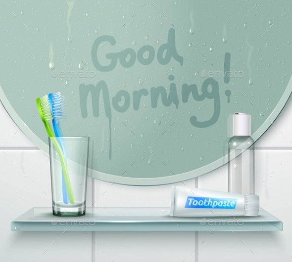 GraphicRiver Good Morning Wash Composition 20390595