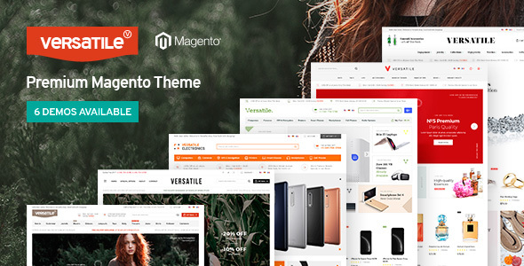 Versatile - Multi-Purpose Responsive Magento 2 and Magento 1 Theme