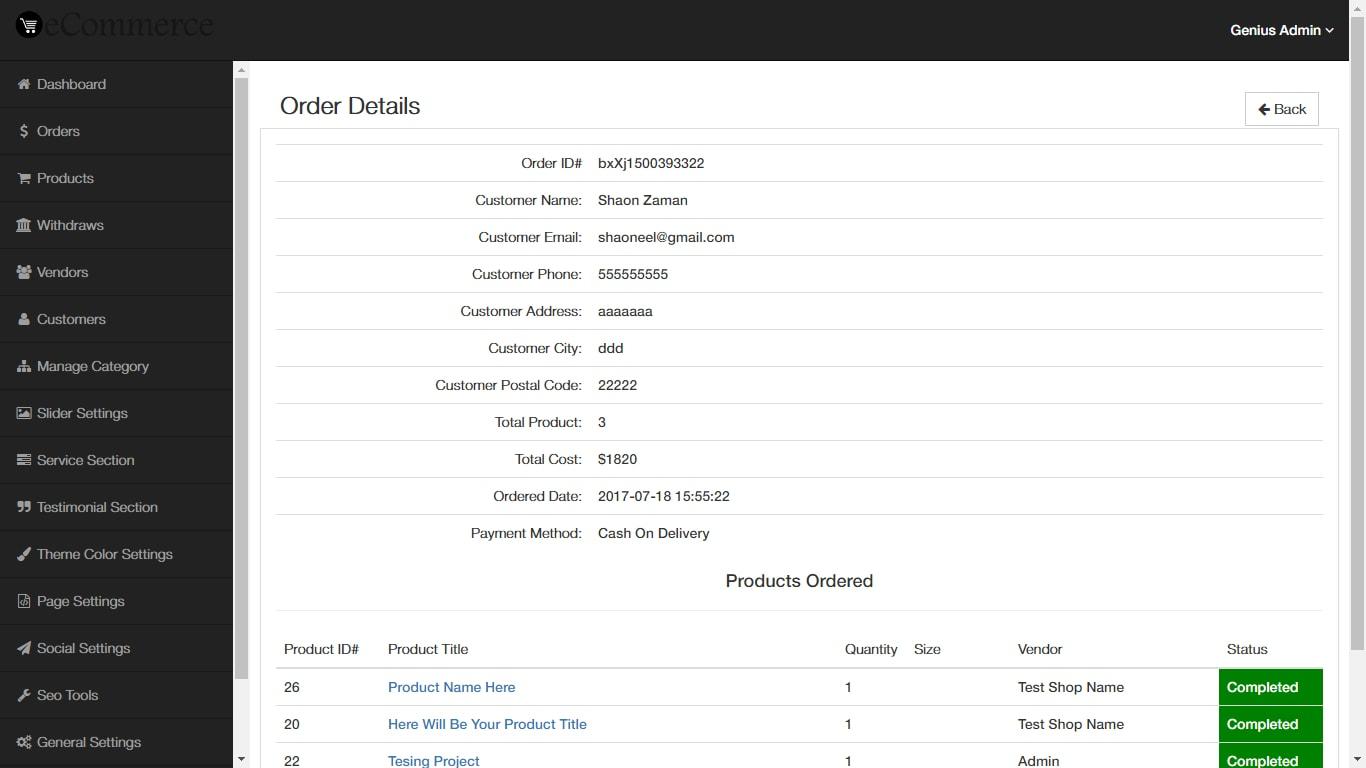 e commerce multi Php & html5 projects for $30 - $250 hi i need e commerce multi vendor store who already done is preferable.