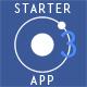 Ionic 2 UI/UX starter app
