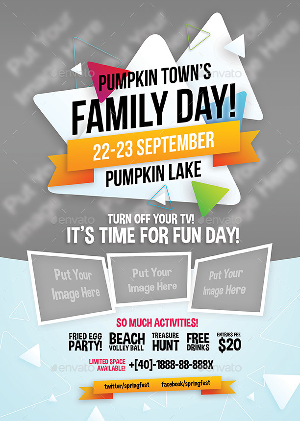 family day flyers by shamcanggih graphicriver