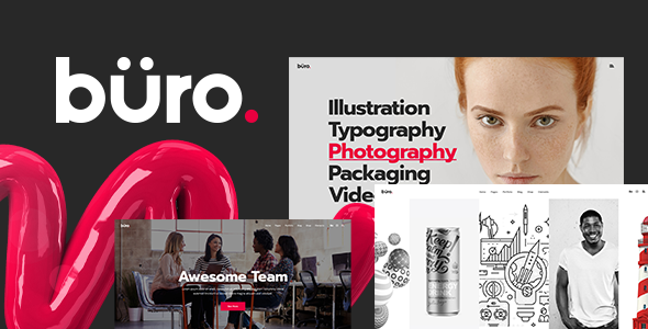 Büro - Ultimate Agency and Freelancer Theme - Portfolio Creative