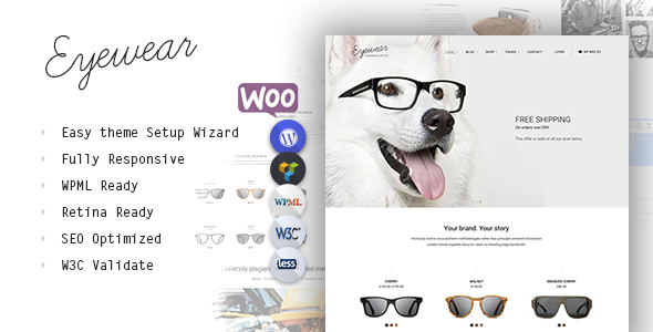 Eyewear - Buy Sell Glasses Online Theme