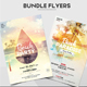 Bundle - 2 Summer Beach Flyers - GraphicRiver Item for Sale
