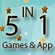 5 IN 1  STARTER KIT GAMES AND APP BUNDLE (CONSTRUCT 2 -CAPX)