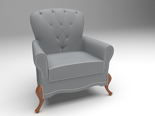 3DOcean Barcelona sofa 20391299
