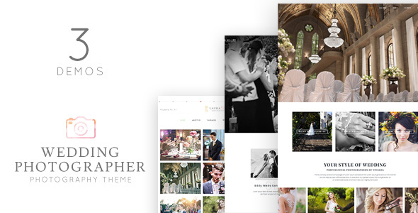 ThemeForest Vivagh Photographer Wedding Photographer Theme 20391450
