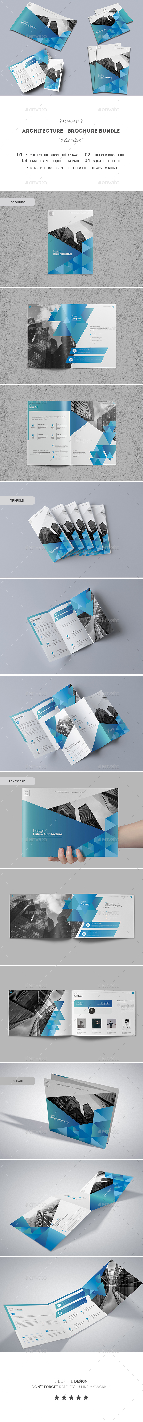 Architecture - Brochure Bundle - Corporate Brochures