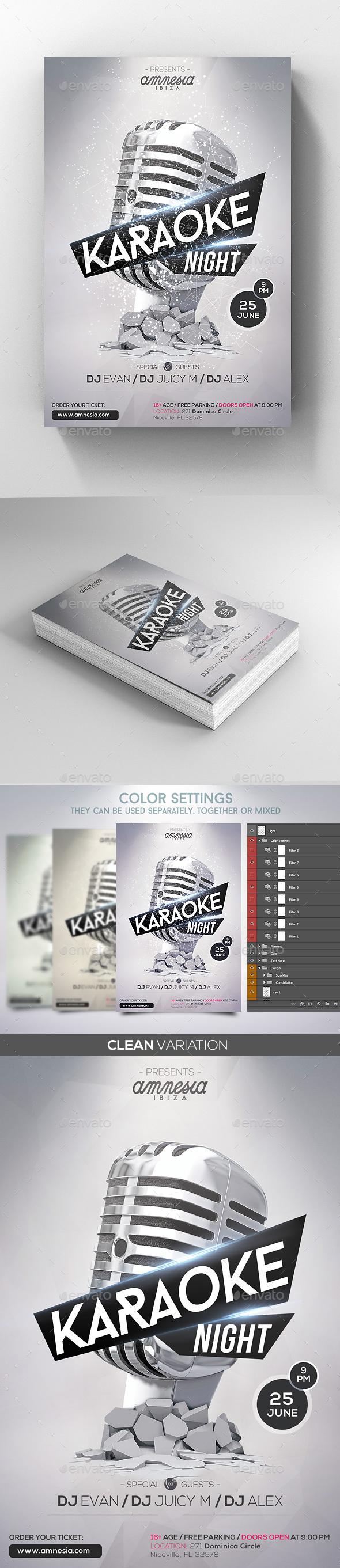 GraphicRiver Karaoke Night Template 20391904