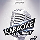 Karaoke Night Template - GraphicRiver Item for Sale