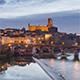 Albi, France - Timelapse - Albi during the Blue Hour