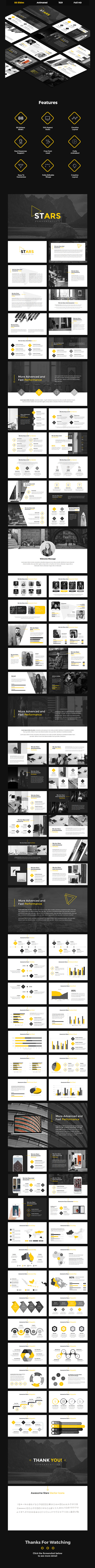 Stars - Creative Google Slides Template - Google Slides Presentation Templates