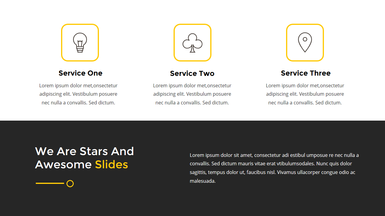 Stars - Creative Google Slides Template by rapidpixel | GraphicRiver