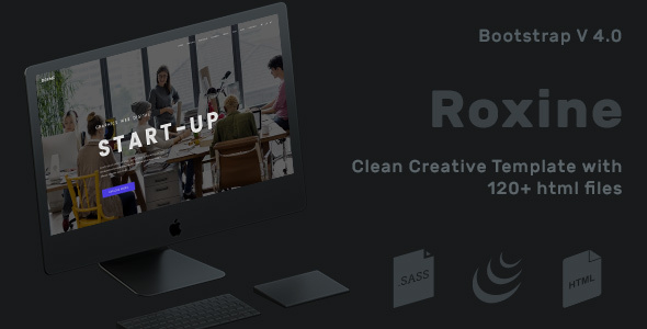 Corporate Multi-Purpose HTML Template for Business - Roxine - Corporate Site Templates