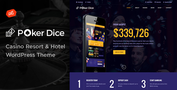 Poker Dice - Casino Resort & Hotel - Travel Retail