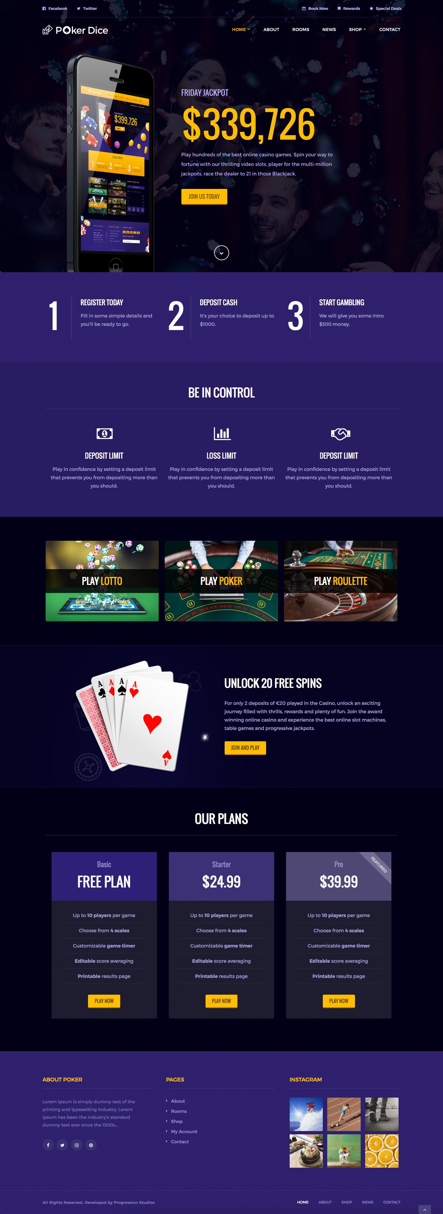 Casino poker web site the office casino night full episode