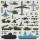 Military Weapons of Army Naval and Air Force