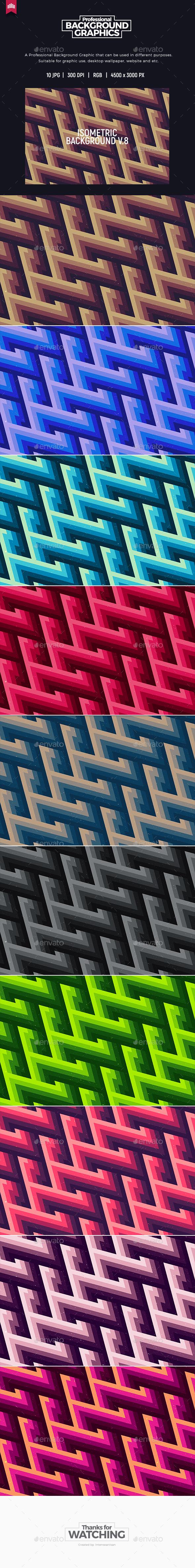 GraphicRiver Isometric Background V.8 20392624