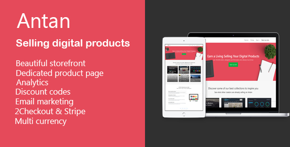 Antan - Selling and Buy digital products - CodeCanyon Item for Sale