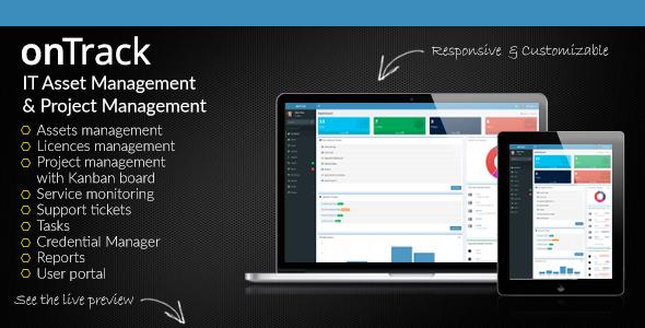 onTrack - IT Asset Management & Project Management - CodeCanyon Item for Sale
