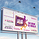 Color Run Festival Billboard Template